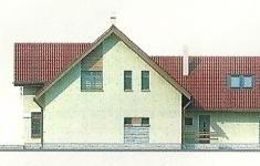 Проект дома 19-12 - 4 фасад
