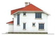 Проект дома 41-11 - 1 фасад