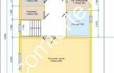 Дом ХУТЫНЬ - план 1 этажа