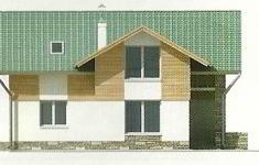 Проект дома 39-12 - 4 фасад