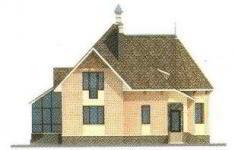 Проект дома 32-11 - 4 фасад