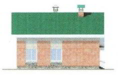 Проект дома 42-11 - 3 фасад