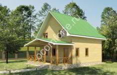 Проект дома УЮТ - 2 вид