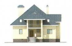 Проект дома 29-11 - 4 фасад