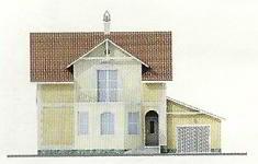 Проект дома 45-12 - 4 фасад