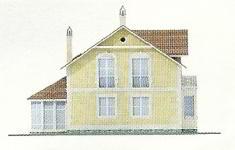 Проект дома 45-12 - 3 фасад