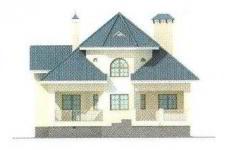 Проект дома 29-11 - 2 фасад