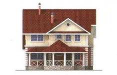 Проект дома 22-11 - 3 фасад