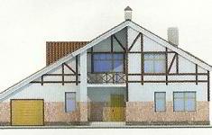 Проект дома 35-12 - 4 фасад
