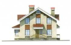 Проект дома 33-11 - 1 фасад