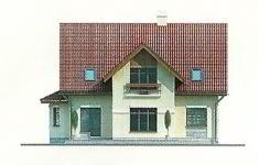 Проект дома 19-12 - 2 фасад