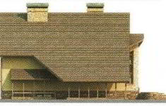 Проект дома 23-11 - 2 фасад