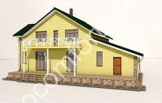Проект дома БЕРН - 4 вид