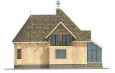 Проект дома 32-11 - 2 фасад