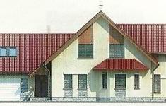 Проект дома 19-12 - 1 фасад