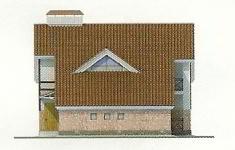 Проект дома 35-12 - 3 фасад