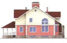 Проект дома 22-11 - 4 фасад