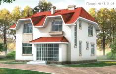 Проект дома 41-11 - главный вид