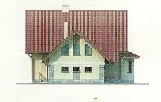 Проект дома 19-12 - 3 фасад