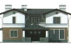 Проект 25-11 - 4 фасад
