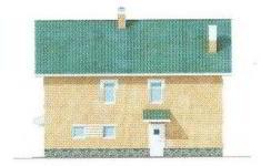 Проект дома 40-11 - 4 фасад