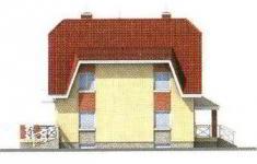 Проект дома 27-11 - 2 фасад