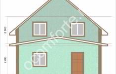 Дом НЕВАДА - 1 фасад
