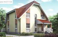 Проект дома 27-11 - главный вид