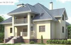 Проект дома 29-11 - главный вид