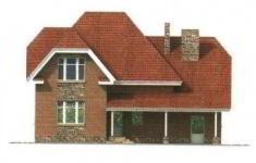 Проект дома 30-11 - 3 фасад