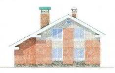 Проект дома 42-11 - 2 фасад