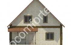 Дом КОМФОРТ - 2 фасад