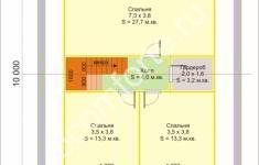 Дом СЕМЕЙНЫЙ - план 2 этажа