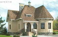 Проект дома 32-11 - главный вид