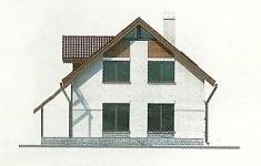 Проект дома 43-12 - 3 фасад