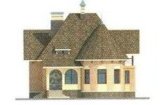 Проект дома 32-11 - 3 фасад
