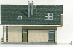 Проект дома 44-12 - 3 фасад
