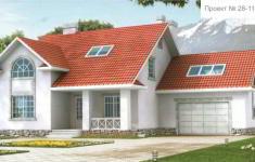 Проект дома 28-11 - главный вид