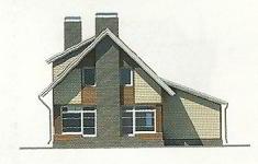 Проект дома 77-12 - 2 фасад