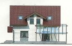 Проект дома 43-12 - 4 фасад
