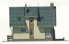 Проект дома 77-12 - 1 фасад